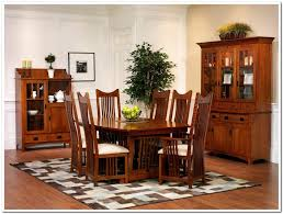 mission style dining room pieces old oak mission style dining room set with high back dining