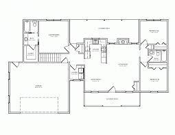 5 Bedroom Ranch Floor Plans by One Floor House Plans 5 Bedroom House Plans Ranch Floor Plans