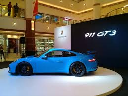 porsche gt3 malaysia porsche 911 gt3 makes its debut prices start from rm1 7