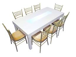 clement dining table for rental in dubai abu dhabi uae