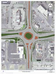Wisconsin Road Construction Map by Richmond Northland Intersection In Appleton Closes For