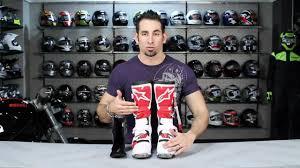 alpinestars tech 8 light boots alpinestars tech 8 light boots review at revzilla com youtube