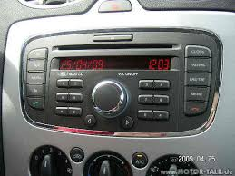 2007 ford focus radio originele radio focus 2006 fordclub be