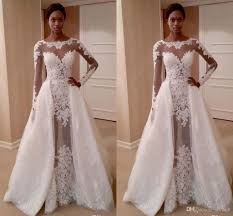 custom made wedding dresses uk discount graceful white applique lace wedding dresses with