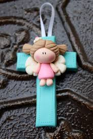 cruz angelito first communion pinterest clay polymers and