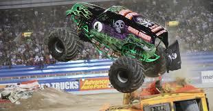 las vegas monster truck show the road to becoming a monster truck driver matt cody tells all