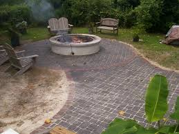 Paving Backyard Ideas Eco Friendly Terrific Backyard Ideas With Rustic Wooden Outdoor