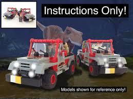 jurassic park jeep instructions custom jurassic park classic 1992 jeep wrangler instructions