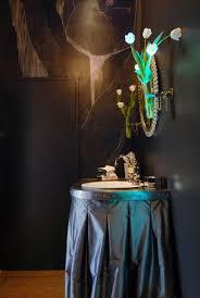 Decorating Powder Room Bowl Sink Ideas Powder Room Designs Wall Mount Candle Light