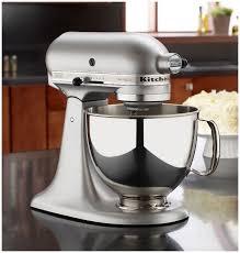 Mini Kitchen Aid Mixer by Kitchenaid Artisan Stand Mixer Silver Metallic 5 Quart