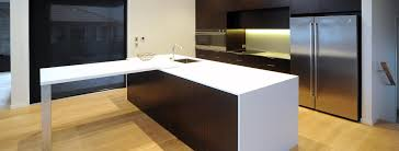 neo design kitchen renovation north shore minimalist dark oak