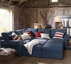Denim Sectional Sofa Sofa Beds Design Extraordinary Traditional Deep Cushion Sectional