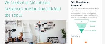 Interior Design Firms In Miami by Affordable Interior Design Wins Award From Expertise Com