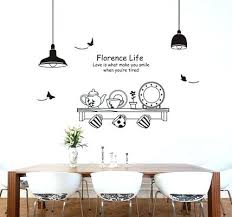 Dining Room Wall Decals Dining Room Wall Stickers Jcemeralds Co