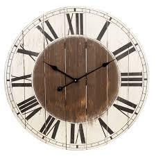 tres grande horloge mà tal type fer forgà campagne et style