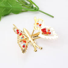 butterfly hair clip shaking wings butterfly hair accessories hair clip hollow