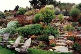 Sloping Backyard Landscaping Ideas Hillside Sloped Backyard Landscaping Amazing Sloped Backyard