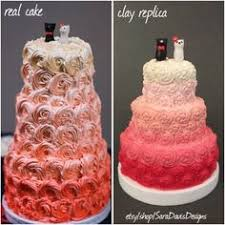 wedding cake replica 1st anniversary gift wedding cake ornament