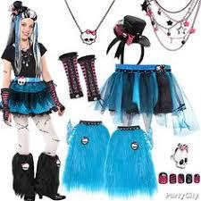 Monster Costumes Halloween Ghoulfriends Jinafire Draculaura Frankie Stein