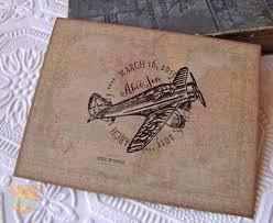 Beach Wedding Invitation Cards Rustic Airplane Wedding Wedding Invitation Rustic