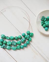 Make Beautiful by How To Make A Simple Beaded Necklace U2013 A Beautiful Mess