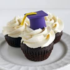 edible graduation caps graduation cupcakes with edible grad caps for my graduation from