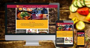 web design for restaurants website for takeaways