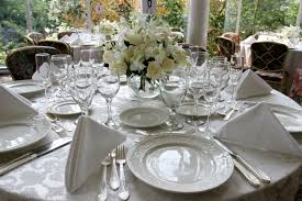 wedding table settings inspiration idea table settings for weddings with wedding style
