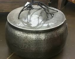 Metal Drum Accent Table Table Cool Metal Drum Side Table Enthrall Industrial Rustic