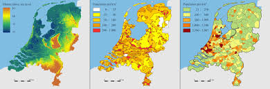 Map Netherlands Netherlands Map 1950