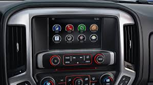 Silverado 2013 Interior 2014 Gmc Sierra Slt Interior Color Touch Radio With Intellilink