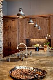 rustic kitchen pendant lights home and interior