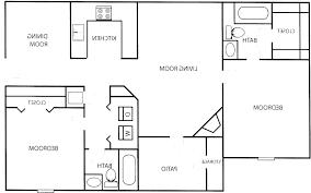 home design one bedroom apartment designs example 2 floor plan