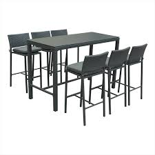 Bunnings Bar Table Great Bunnings Bar Table With Mimosa 7 Silverleaves Steel