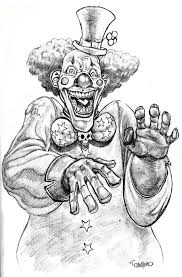 140 best clowns coloring images on pinterest clowns coloring