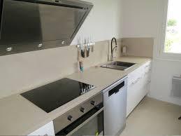 beton ciré cuisine plan travail beton cire plan de travail cuisine maison design bahbe com