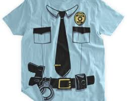 Police Halloween Costumes Funny Police Costume Tshirt Funny Police Uniform Uniform