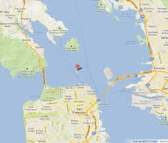 san francisco map of usa alcatraz on map of san francisco bay world easy guides