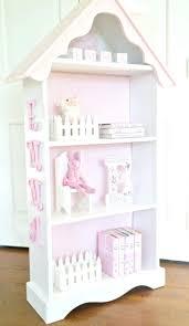 Made Bookcase Dollhouse Bookcase Beach Cottage Brick Row House Cute Hack