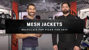 best bike jackets best mesh motorcycle jackets 2017 at revzilla com youtube