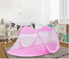 summer baby portable mosquito net baby crib folding mosquito