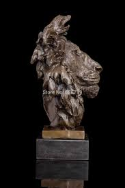 barye lion sculpture best supplier 100 bronze lions sculptures animal bust lion
