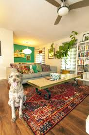 living room eclectic ideas round wooden table loveseat sofas