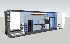 Tiny Home Designs Floor Plans by Tiny House Open Floor Sketchup Designs Youtube