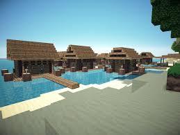 Minecraft Project Ideas Water Village Minecraft Project