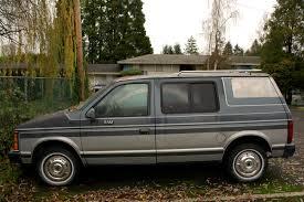 Dodge Ram Van - old parked cars 1986 dodge