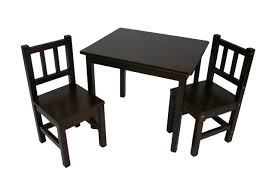 3 piece kids table and chairs set ehemco