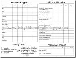 report card format template best 25 school report card ideas on report card