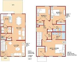 3 Bedroom Floor Plans by Herryford Village E1 E5 With Select Homes Open To All Military