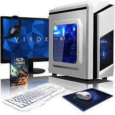 pc de bureau gaming vibox pyro sa6 381 pack pc gamer 41ghz apu dual amd a6